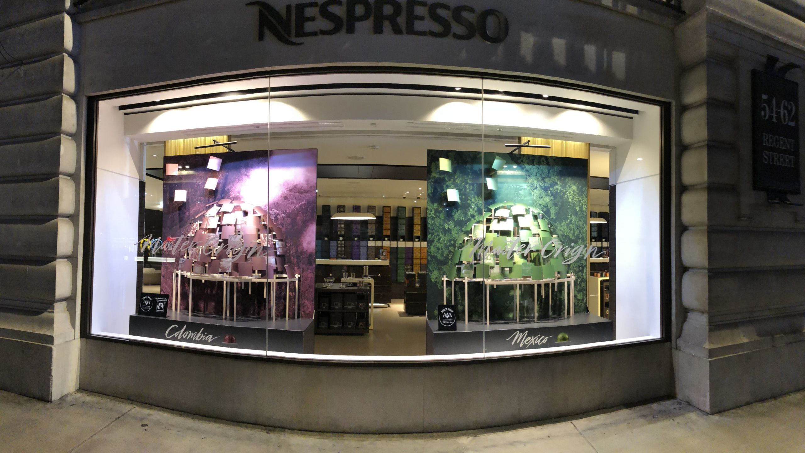 Nespresso Window Display