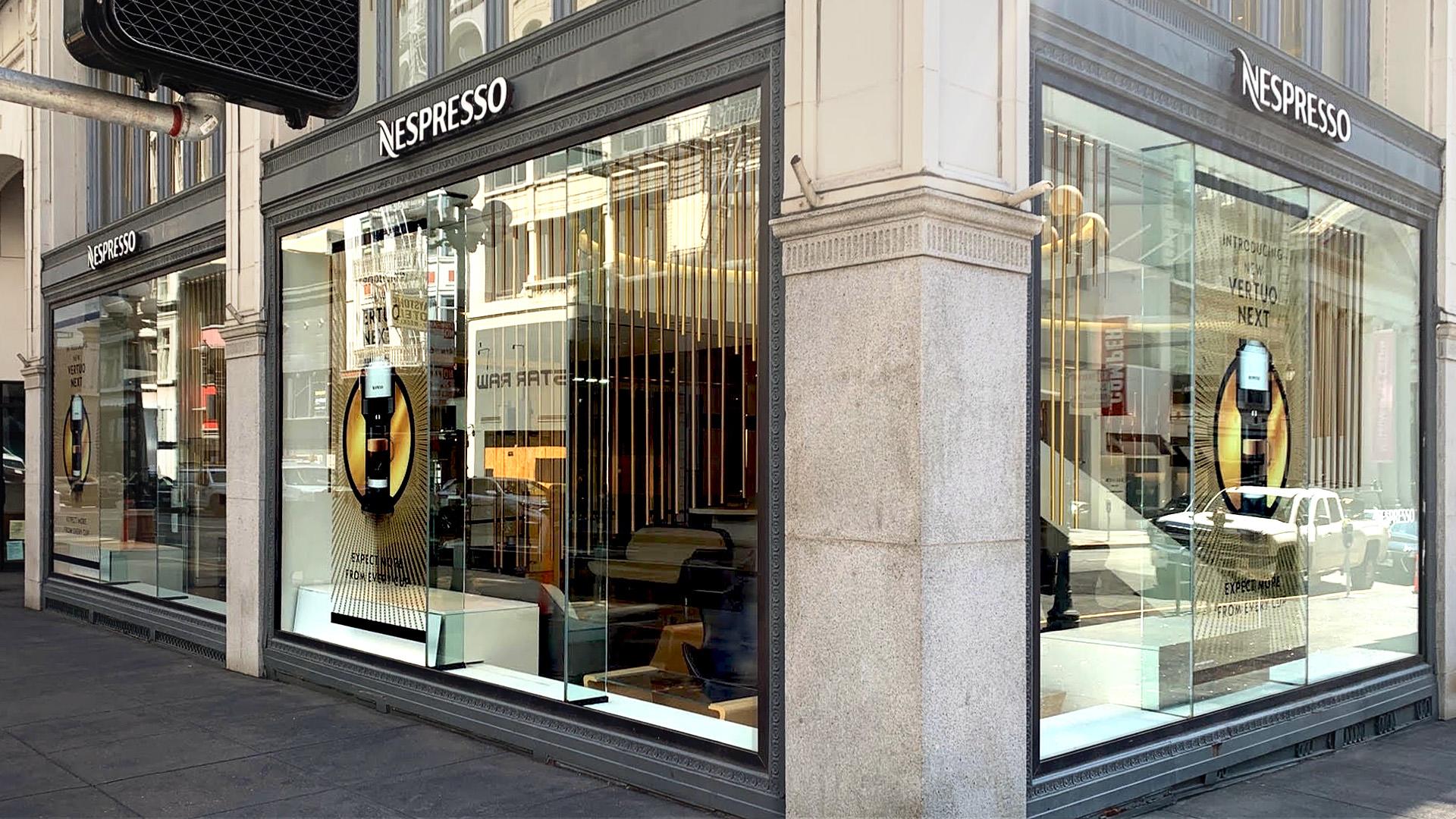 Nespresso Vertuo Store
