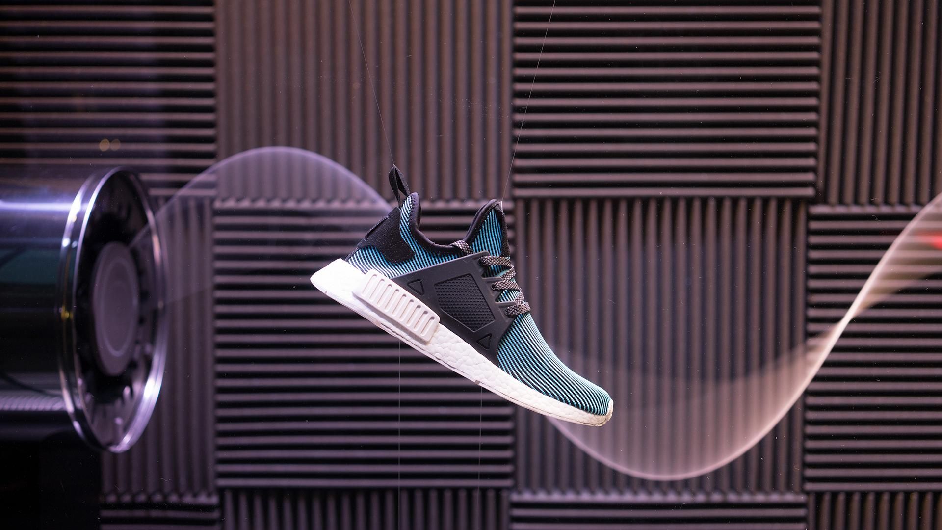 Adidas NMD shoe | installation